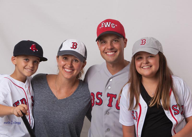 Baseball Family Portrait