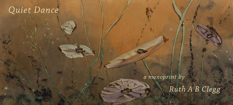 Quiet Dance monoprint