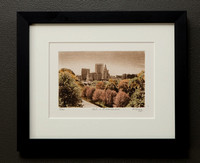Fall in Providence framed